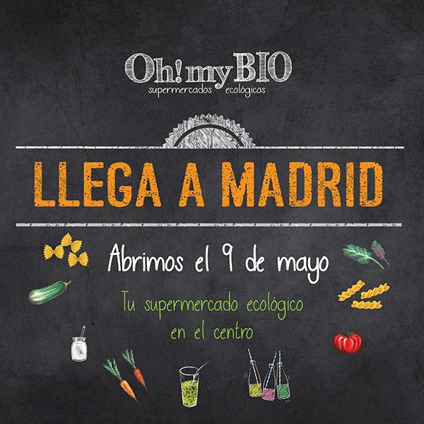 supermercado ecológico en Madrid OhMyBio
