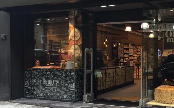Fachada ohmybio supermercado ecológico en Madrid centro hortaleza 38