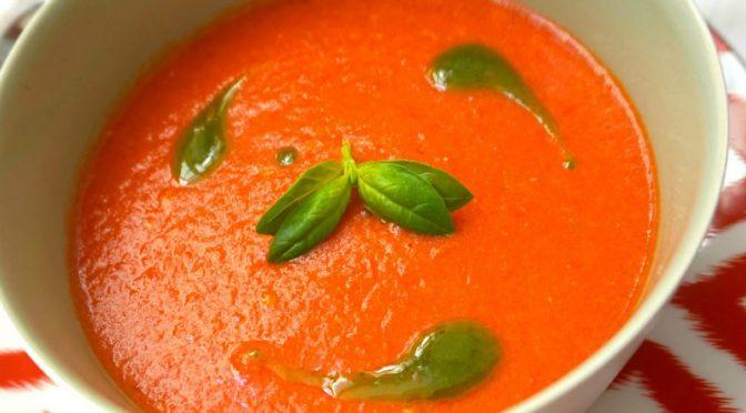 Receta de gazpacho vegano