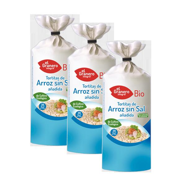 tostas arroz ecologico