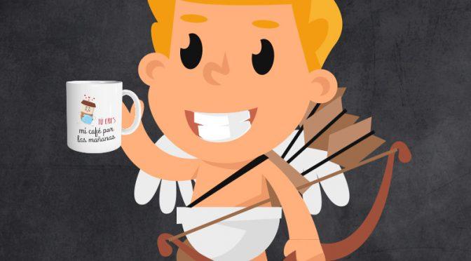 Cupido ya tiene su propia taza personalizada