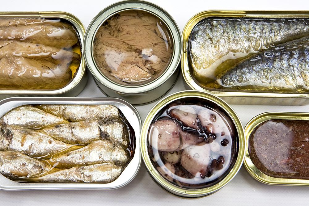Cocina con conservas ecológicas
