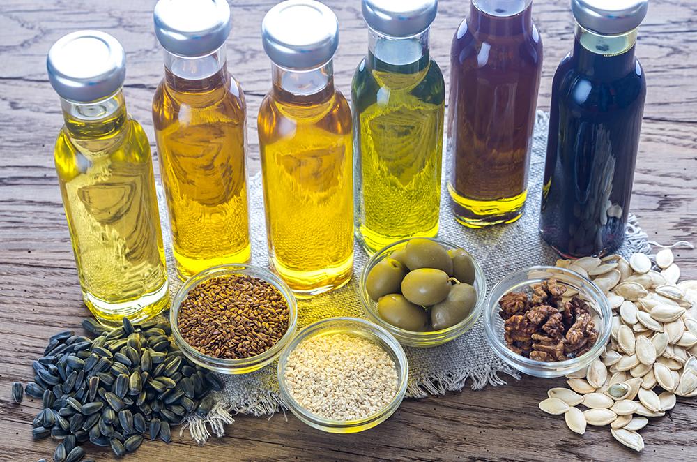 Diferentes tipos y propiedades del aceite ecológico