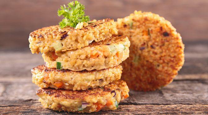 Receta de Croquetas de calabacín, quinoa y menta