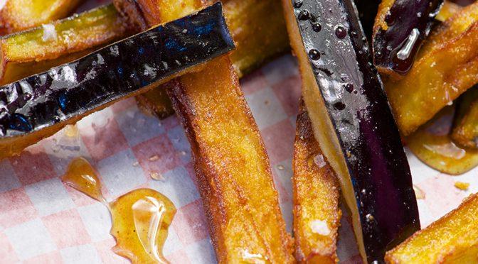 Recetas: Aperitivos y guarniciones con berenjena y miel