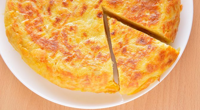 Receta: Quítale el huevo a la tortilla de patata