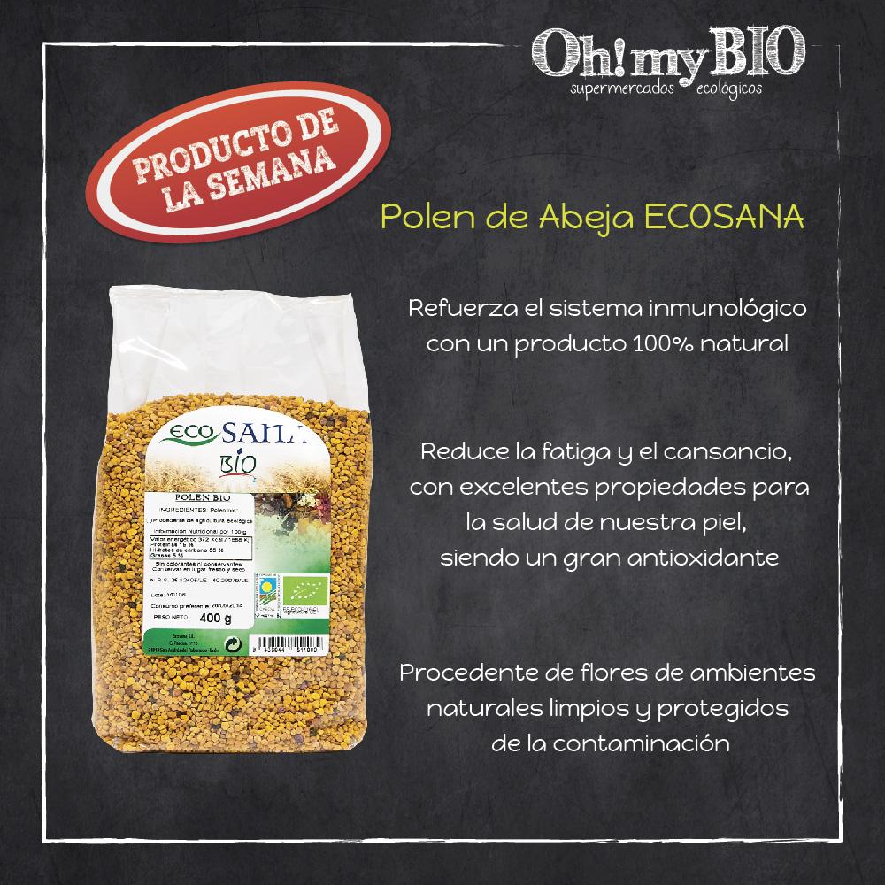 Beneficios del polen de Ecosana