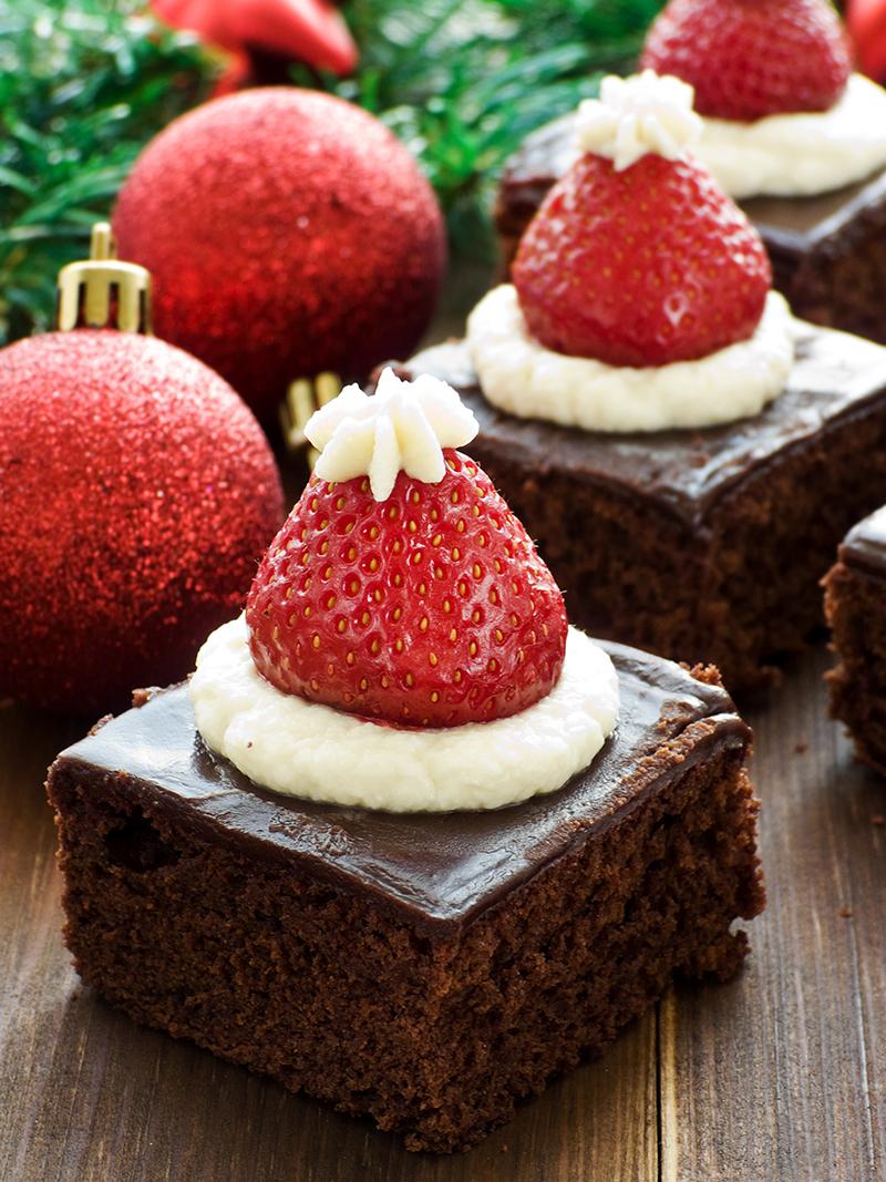 Postres navideños y saludables