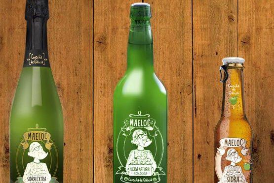 Producto de la semana: Sidra ecológica Maeloc para brindar en Navidad