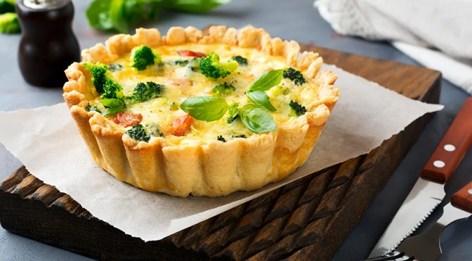 Recetas: Tartas saladas y saludables para empezar el año