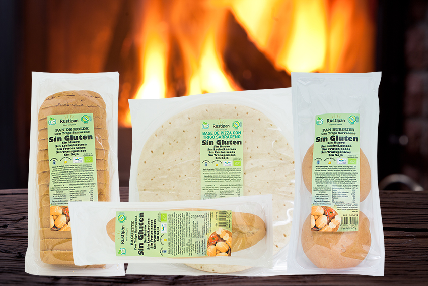 pan ecológico sin gluten