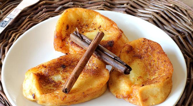Recetas de Carnaval: Torrijas sin huevo y leche frita sin leche
