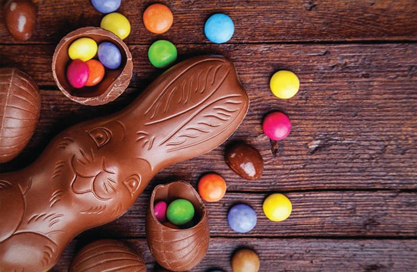 Huevos de Pascua ecológicos