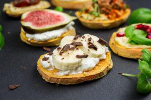Desayunos saludables: Tostadas de boniato
