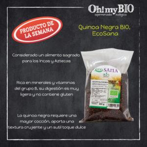Quinoa negra de Ecosana