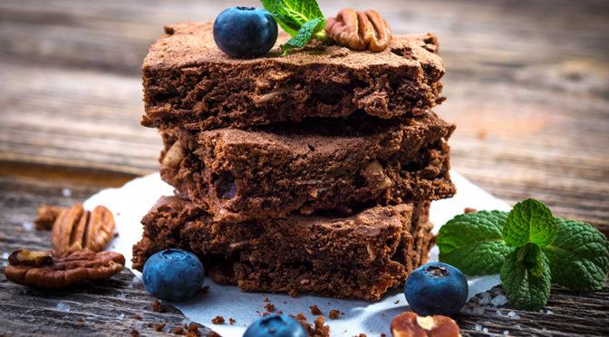 brownie sin gluten y vegano