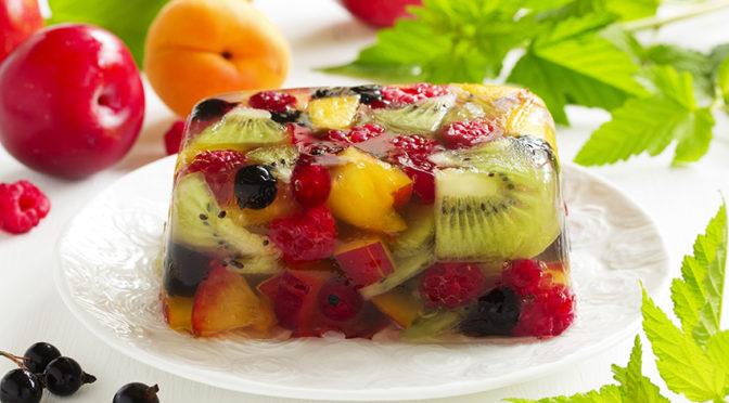 Recetas: A la rica gelatina de frutas