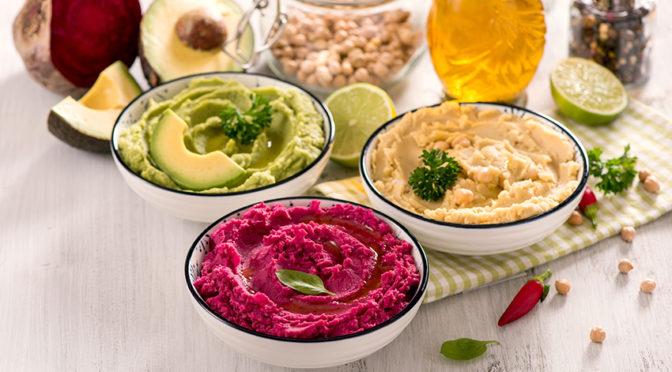Recetas: Hummus de colores