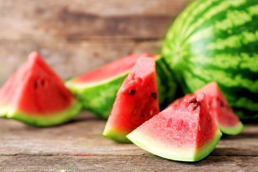 5 razones para consumir sandía en verano