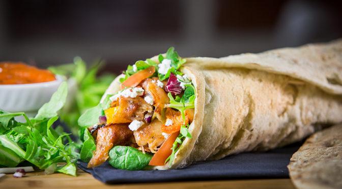 Recetas: Burritos mexicanos veganos