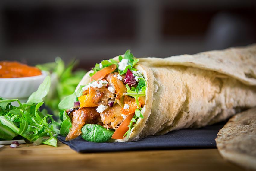 Burritos mexicanos veganos