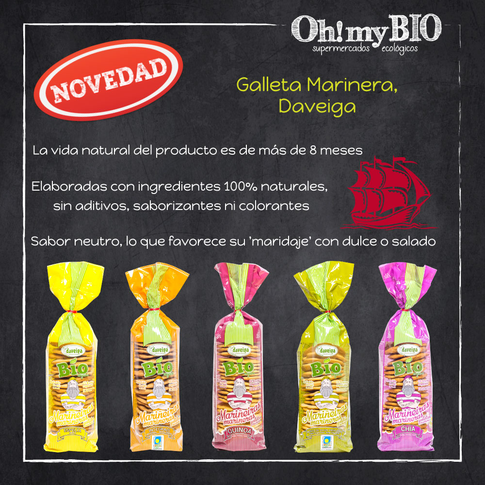 Galletas Marineras Daveiga