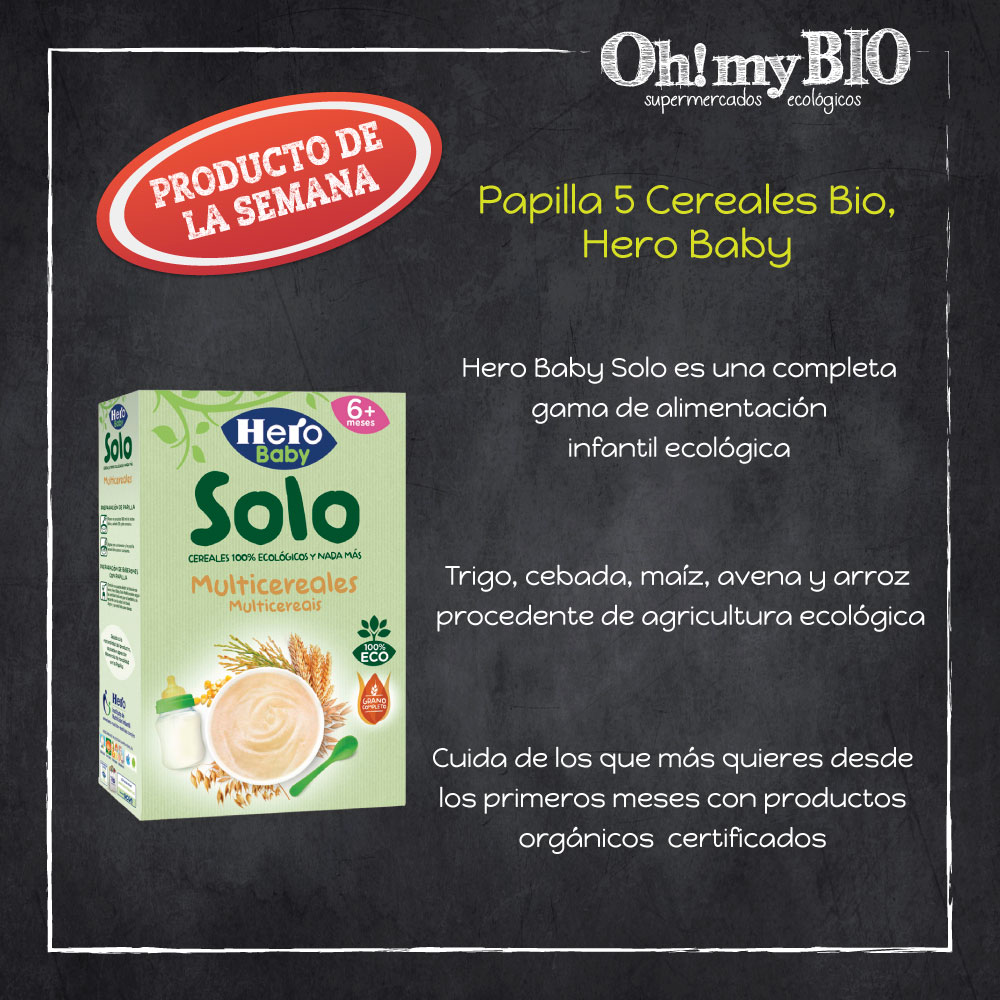 Papilla multicereales Hero Solo
