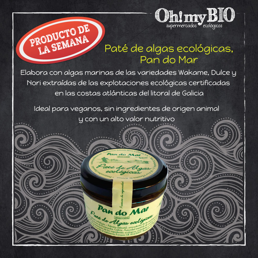 Ficha de paté de algas ecológico Pan do Mar