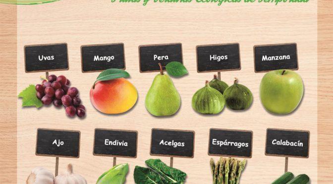 Frutas y verduras de temporada en septiembre
