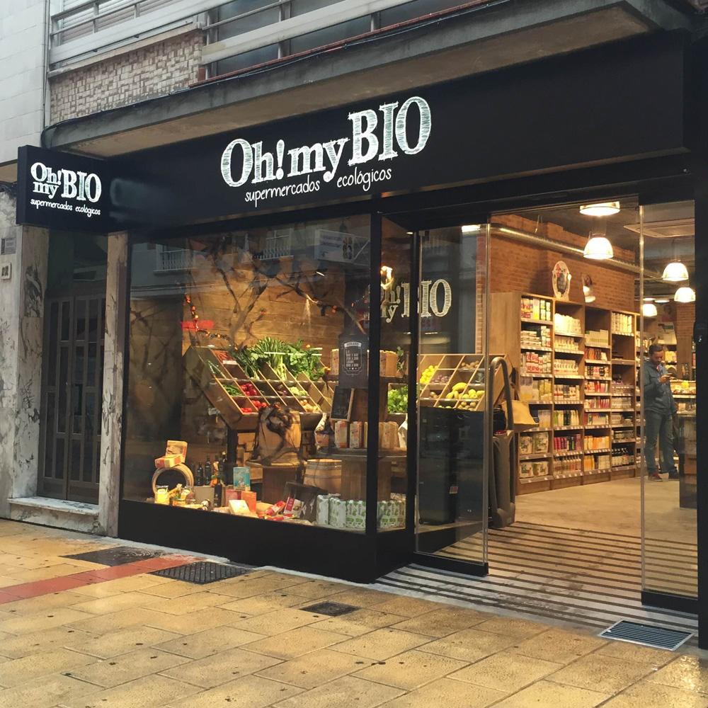 Supermercado ecológico OhMyBio León