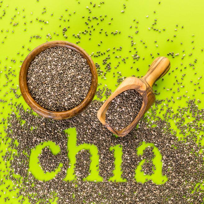 Las semillas de la Chía tienen un efecto saciante