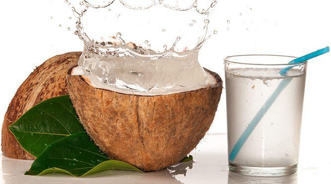 Agua de coco: antioxidante, digestiva ¡y deliciosa!