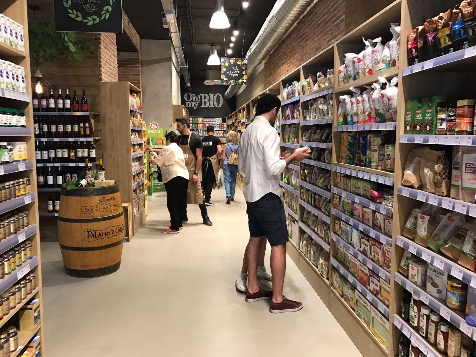 Supermercado ecológico en madrid centro OhMyBio