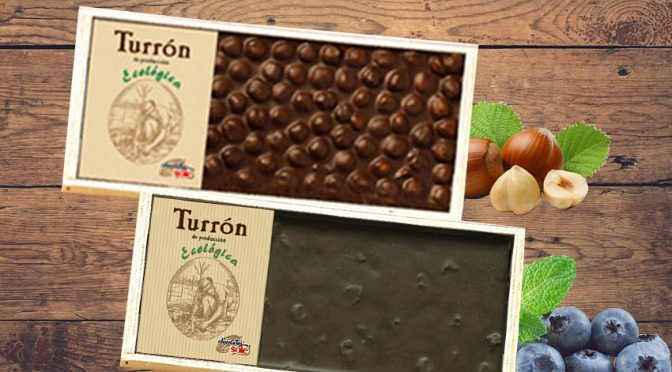 Turrón de chocolate ecológico