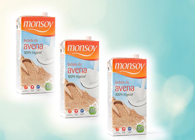 Bebida de avena Monsoy