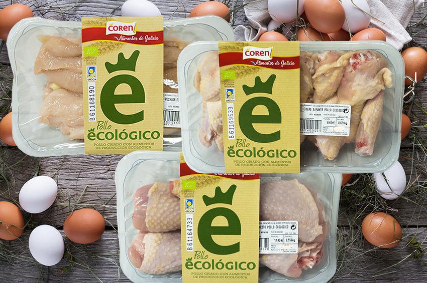 Pollo ecológico Coren
