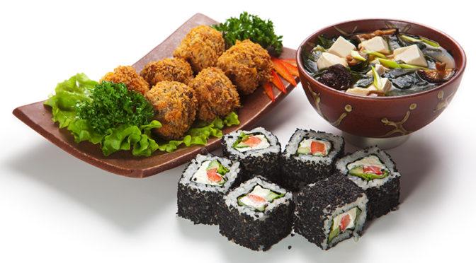 Recetas con algas: Croquetas de cecina y wakame, espagueti de mar con hummus de aguacate y sopa oriental con Nori