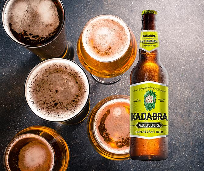 Brinda de manera saludable con la cerveza Kadabra Pale Ecológica