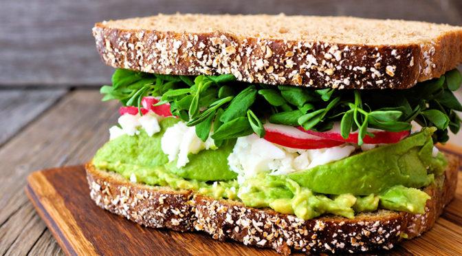 Recetas: Siete sándwiches saludables para tu día a día