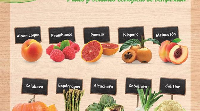 Frutas y verduras de temporada en abril