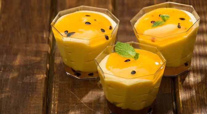 Recetas: Mousse de naranja