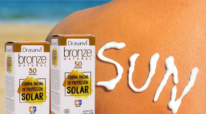 Crema de protección solar bio Bronze