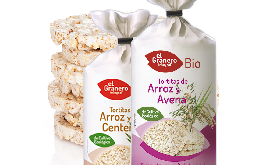 Tortitas de arroz de El Granero Integral