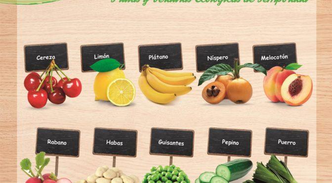 Frutas y verduras de temporada en mayo